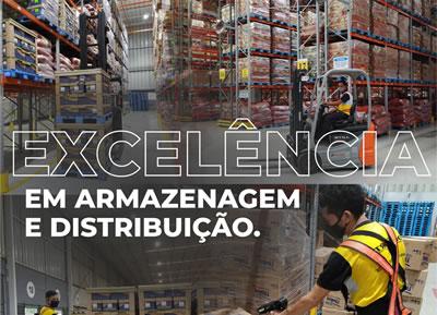 Excelencia em armazenagem e distribuição